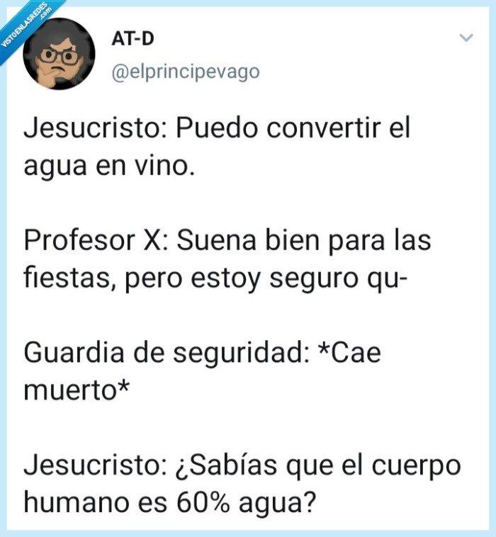 ElPrincipeVago,Jesucristo,Profesor X,X men