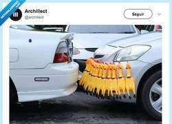 Enlace a El mejor detector de aparcamiento, por @archillect