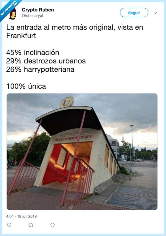 100x100unico,entrada,frankfurt,MadeToBeUnique,Maxibon,metro,torcido