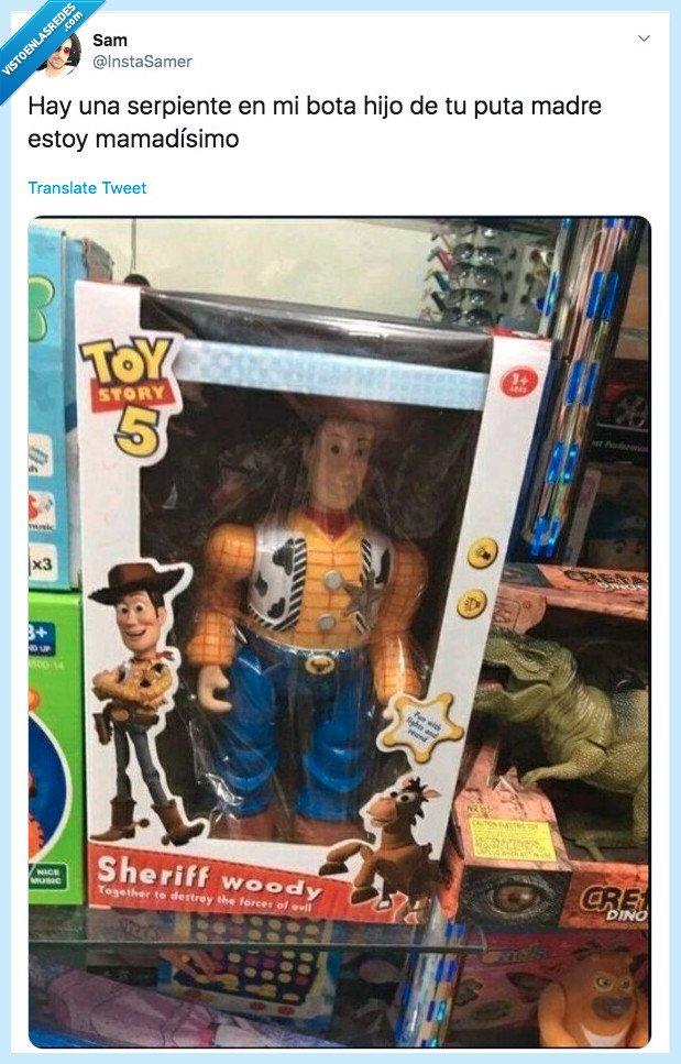mamadisimo,toy story 5,woody