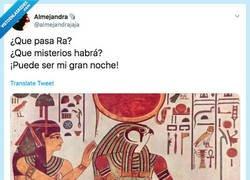 Enlace a ¿Qué fue antes Raphael o los egipcios?, por @almejandrajaja