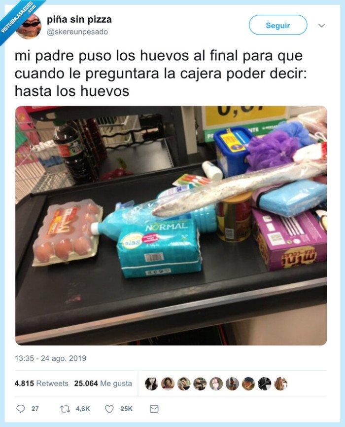 cinta,huevos,supermercado