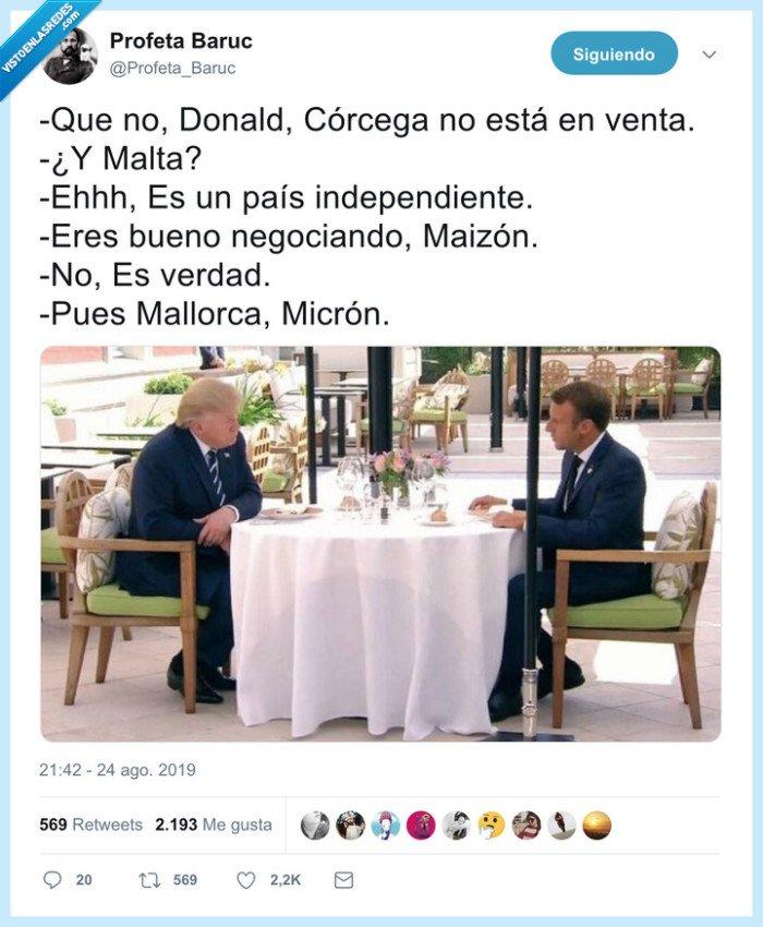 macron,negociar,trump
