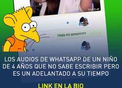 Enlace a Niños de 4 años que mandan audios en Whatsapp pero no saben leer, por @_paulalves