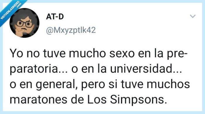 Mxyzptlk42,Sexo,Simpsons,vida