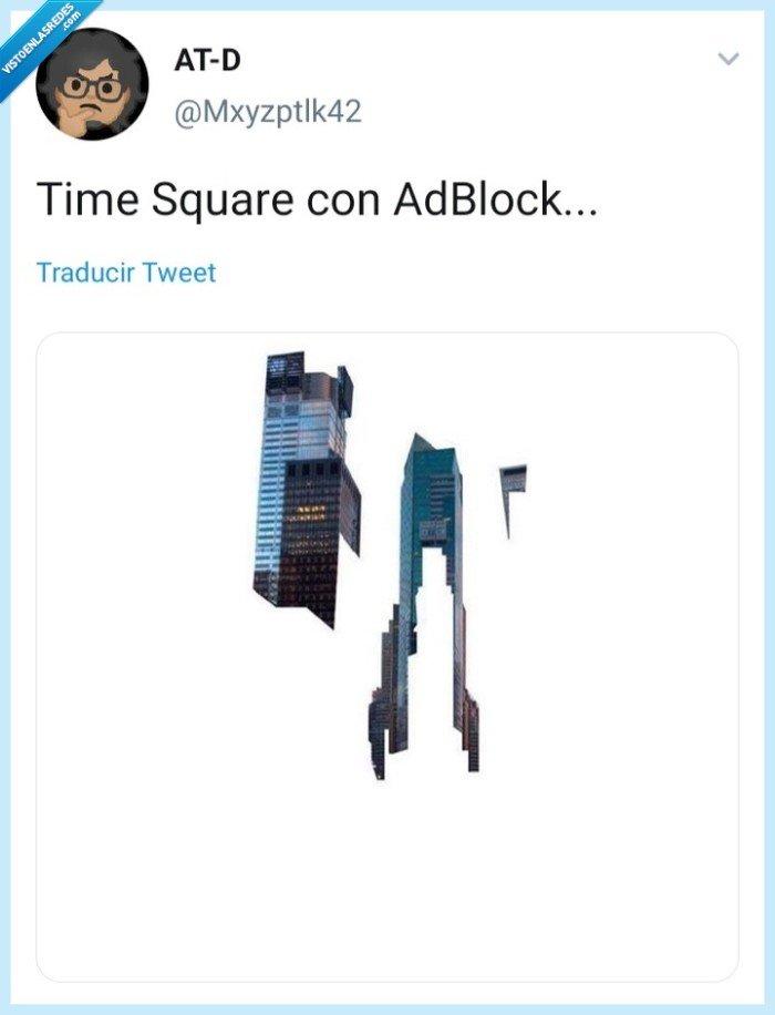 adblock,Mxyzptlk42,Time square