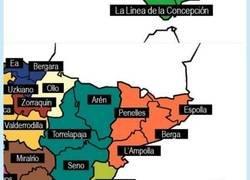 Enlace a Un chaval de 11 años hace un repaso a los municipios con nombres guarretes en España, por @subetealanutria