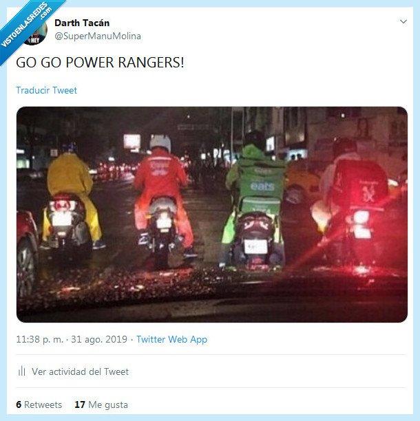go go,motillos,power rangers