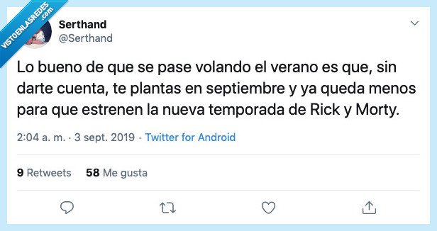 morty,rick,rick and morty,rick y morty,septiembre,verano