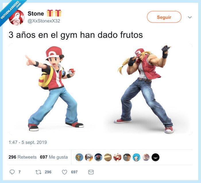 ash ketchum,ciclado,gym