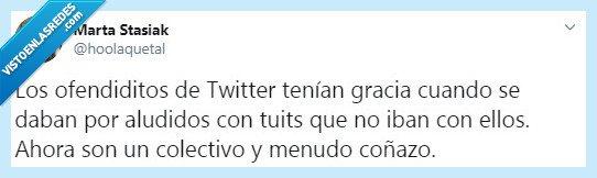 colectivo,gracia,ofendido,Twitter