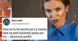 Enlace a Salen a la luz tweets pro-franquistas de María Isabel, la de antes muerta que sencilla, y ella lo niega todo