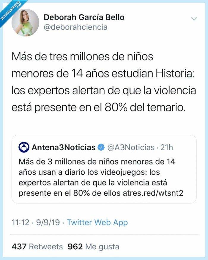 historia,niños,temario,violencia