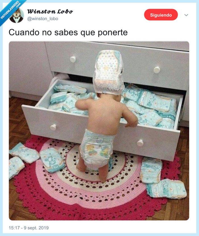 bebé,dodot,pañales,ropa