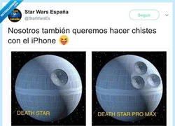 Enlace a La estrella de la muerte Pro Max, por @StarWarsEs