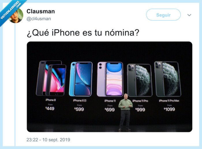 iphone,nómina