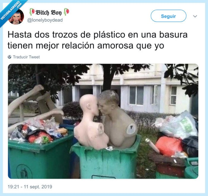 amor,basura,maniquí,plástico