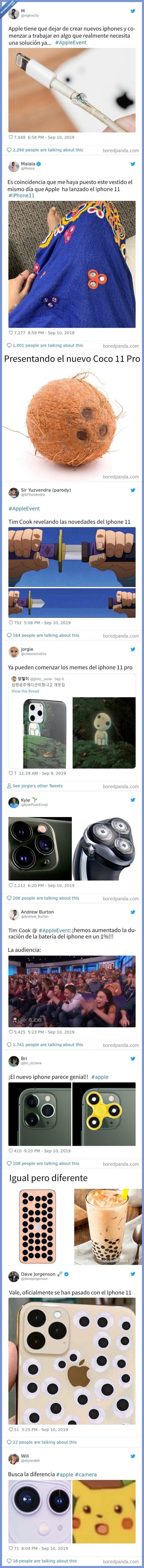 526887 - El nuevo iphone es una basura, o al menos es lo que piensa todo Internet según estos memes. Vía @boredpanda