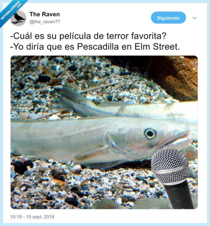 pesadilla en elm street,pescadilla,pez