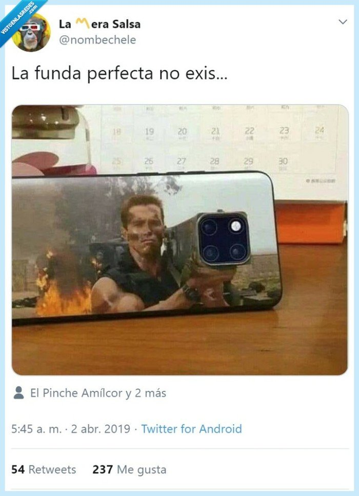 funda,iphone,schwarzenegger