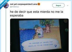 Enlace a Menuda sacada los del Animal Crossing, por @mrelenius