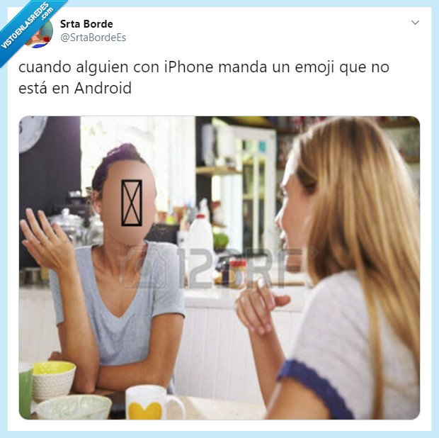 android,emoti,iphone,no se ve