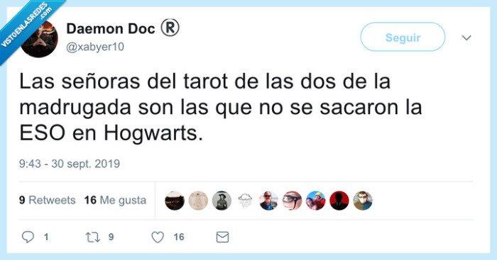 brujas,hogwarts,tarot