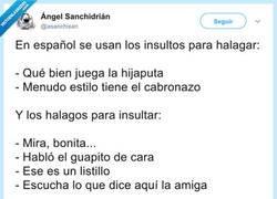 Enlace a El español mola, por @asanchisan
