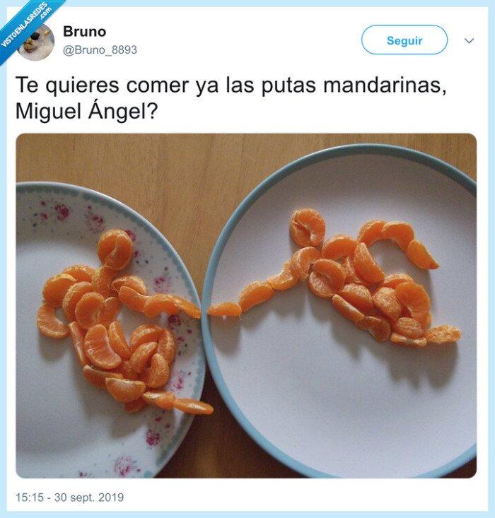 mandarinas,miguel ángel