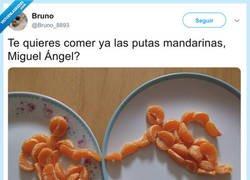 Enlace a Las mandarinas dan mucho juego, por @Bruno_8893
