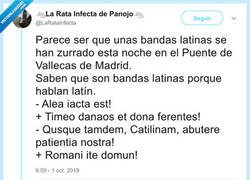 Enlace a Bandas latinas, por @LaRataInfecta