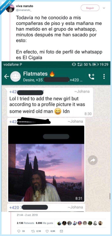 cigala,el cigala,foto de perfil,whatsapp