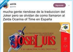 Enlace a Las trepidantes aventuras del duende José Luis, por @adrilik