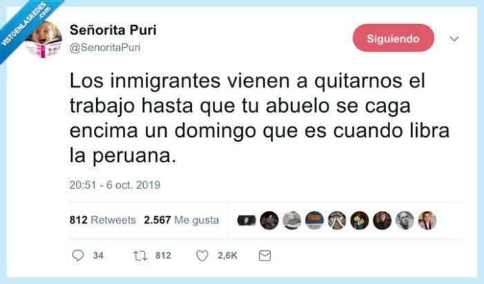 abuelo,cambiar,cuidadora,peruana