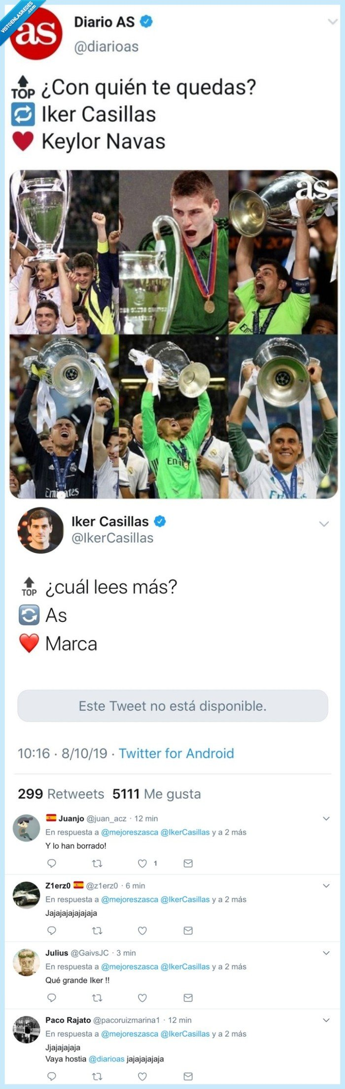 as,casillas,comparación,keylor navas,marca