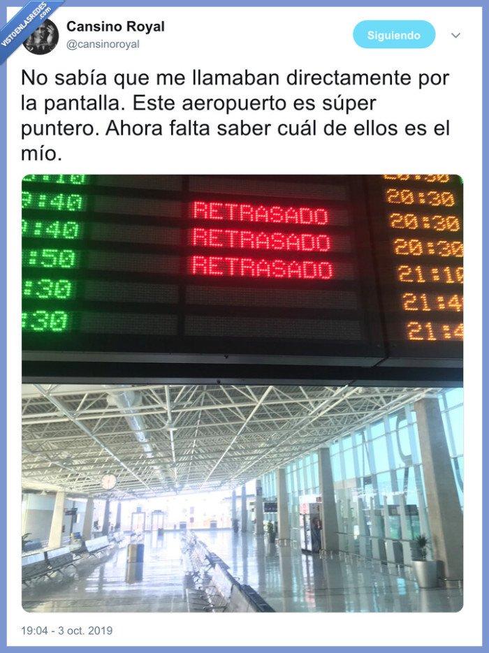 aeropuerto,paneles,retraso