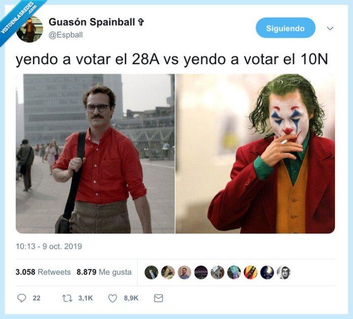 elecciones,joker,política,votar