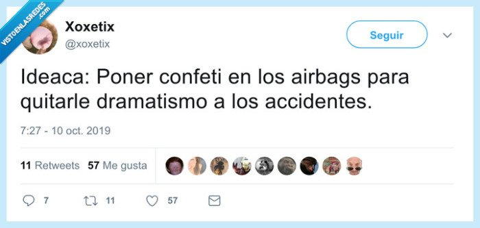 airbag,confeti,explotar