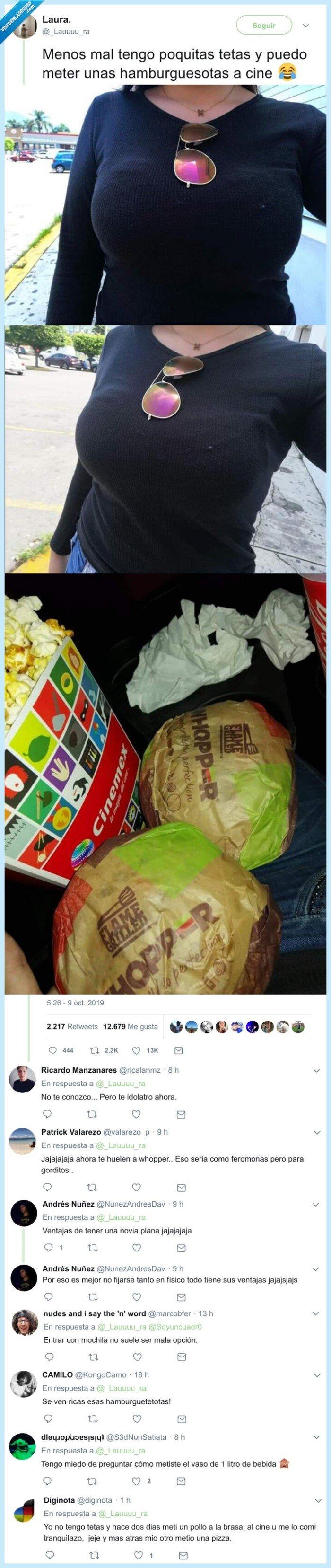 cine,escondidas,fake,gente,hamburguesas