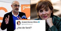 Enlace a Anabel Alonso a guantazo limpio con Felisuco por reírse del paracaídista de la farola