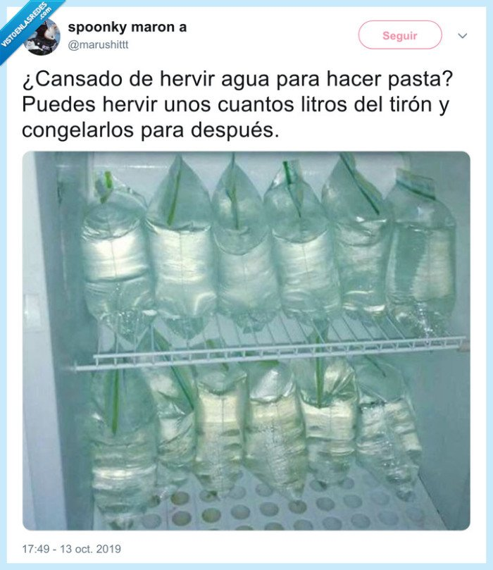 agua,congelar,frigorífico,hervir,nevera