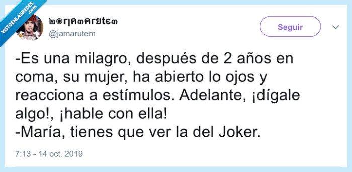 coma,joker,película