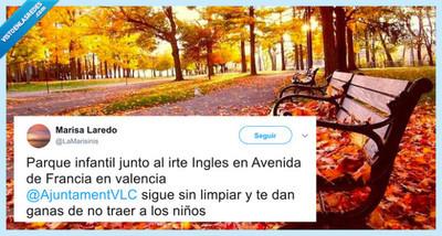 529296 - Señora pija descubre lo que es el otoño y queda completamente impactada