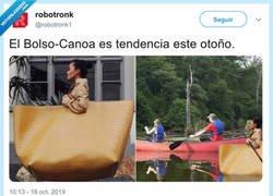 Enlace a El bolso canoa, por @robotronk1