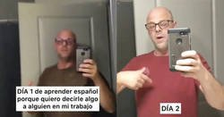 Enlace a Aprendiendo a insultar en español en 45 días, se le da bastante bien