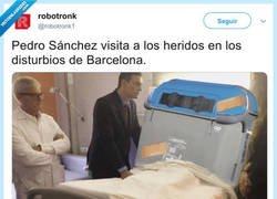 Enlace a El bonito detalle de Pedro Sánchez, por @robotronk1