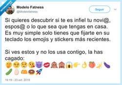 Enlace a Cuidado si tu pareja usa estos emojis, por @Modelofatness