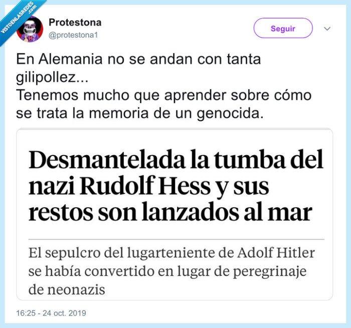 alemania,dictador,españa,franco,hess,restos