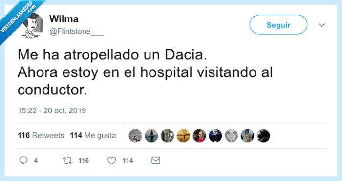 accidente,dacia,hospital