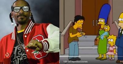 530406 - Los Simpsons ya predijeron lo de Snoop Dogg y el empleado que le lía los porros